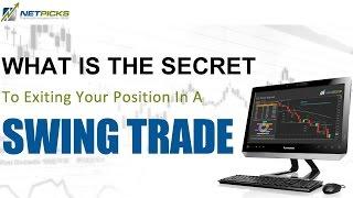 Swing Trade Exit Secret