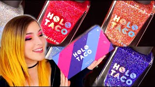 HOLO TACO Holoday Collection Nail Polish Review (Simply Nailogical's brand!) || KELLI MARISSA Video