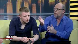Jack Lowden w/ Jason Connery - 'Tommy's Honour' Interview for Fox5