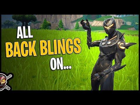 All Back Blings On Oblivion - Fortnite Cosmetics