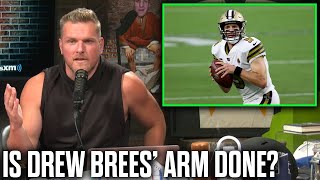 """Is Drew Brees' Arm Done?"" 