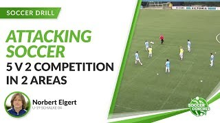5 v 2 Competition   Attacking Soccer with Schalke 04