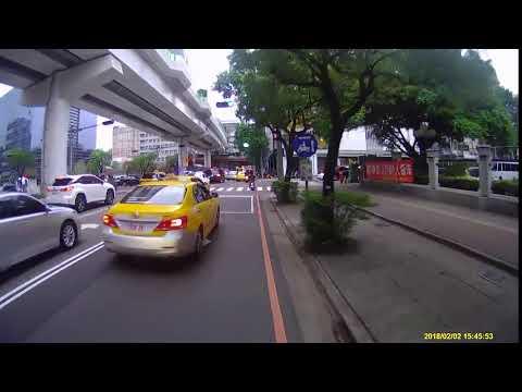 【違規片】TBM-521 怡美計程車衛星車隊 - 轉彎車不禮讓直行車等