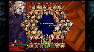 #807 King of Fighters 2002 Unlimited Match (STEAM) Bosses (1/8): Omega Rugal playthrough.