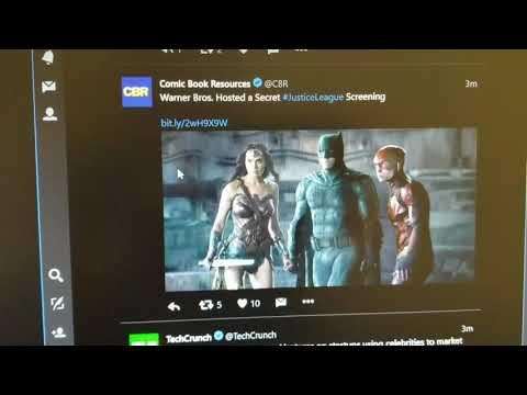 Warner Bros. had a Secret Justice League Screening