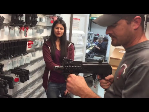 Robert Vogel explains how he controls a handgun