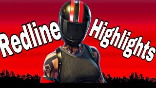 NEW Redline Skin Gameplay (Best Moments) - FORTNITE