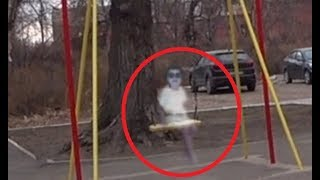 5 Real life ghosts seen on camera. This video will give you goosebumps
