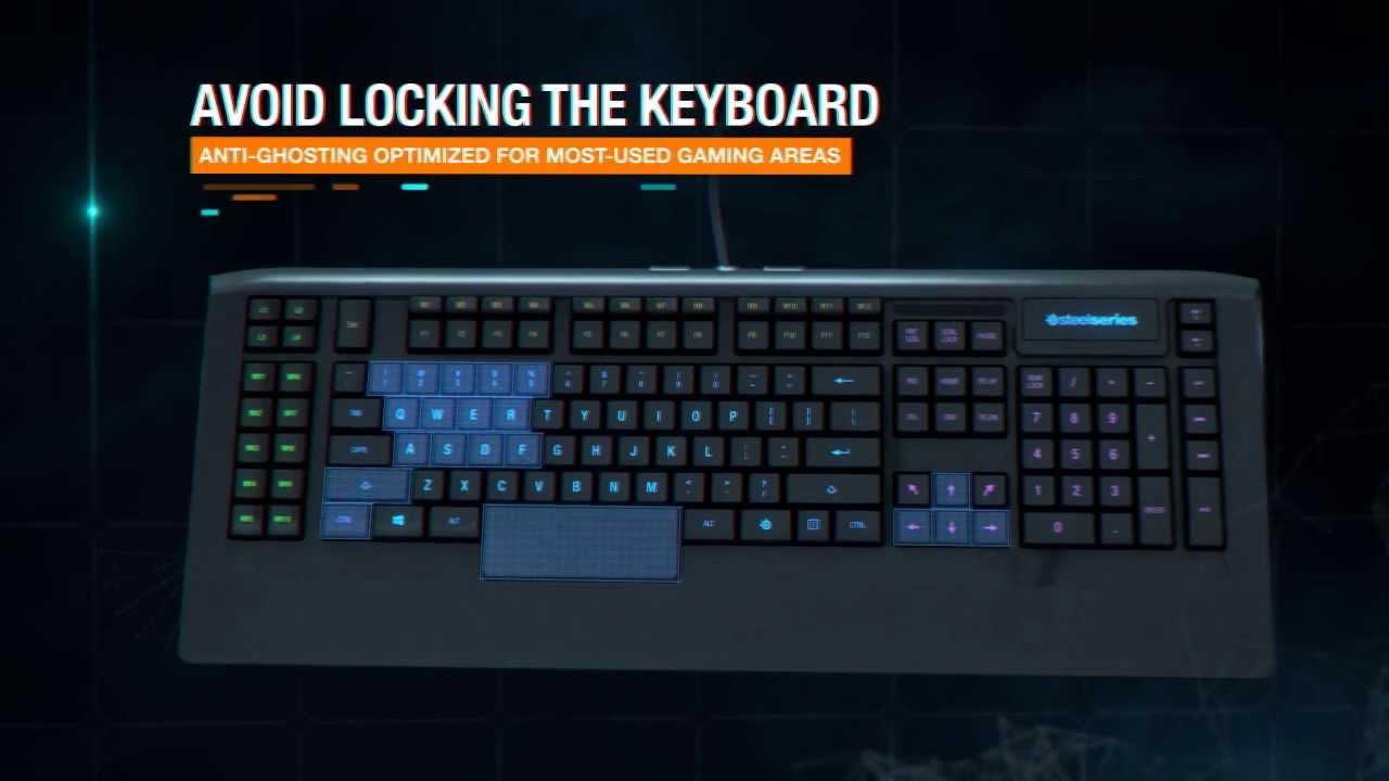 Steelseries Apex Illuminated Gaming Keyboard Steelseries Apex Illuminated