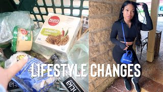 Vlog: lifestyle changes, healthy groceries, getting organized & manifesting | kirah ominique