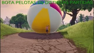 BEACH BOTABALLS IN DIFFERENT PARTIES FORTNITE BATTLE ROYALE