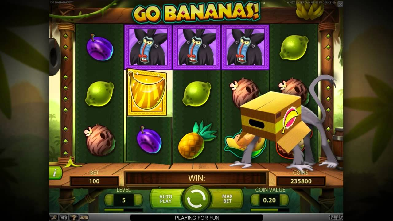Slot Bananas Go Bananas