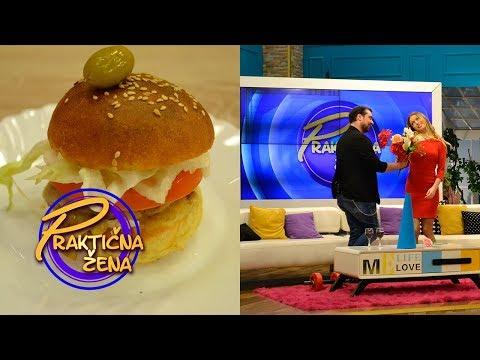 Praktična žena - 1. Burgeri iz snova 2. Saveti za dobar brak – Stefan i Danijela Buzurović