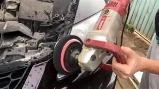 Mazda cx-7 Полировка фар