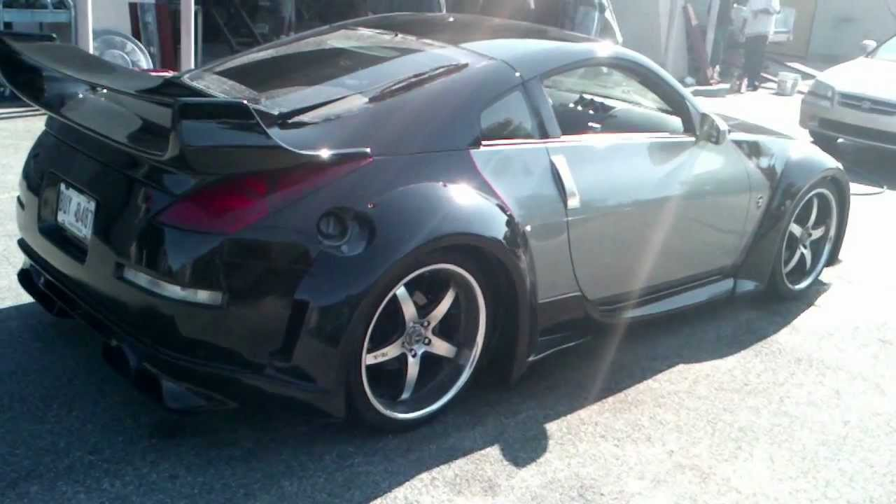 Nissan 350z with wing youtube vanachro Choice Image