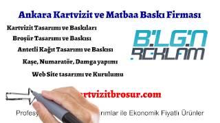 Ankara Kartvizit Ve Matbaa Baskı Hizmetleri | Kartvizitbrosur.com