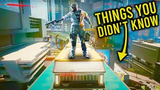 Cyberpunk 2077: 10 Things You Didn't Know You COULD DO