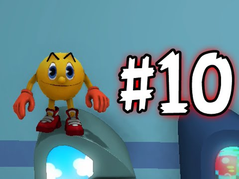 Pac-Man And The Ghostly Adventures - Part 10 - Giant Dragon Boss (Let's Play)