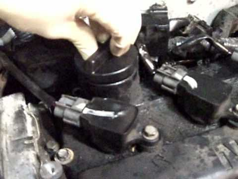 Nissan Altima with bad rings, cylinder #3