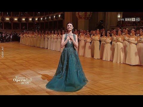 """Valentina Nafornita✬♫""""O mio babbino caro"""" v.G.Puccini/Wiener Opernball 2018"""