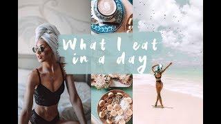 Tämä ''mitä syön päivän aikana'' oli suosittu silloin kun toteutin ...