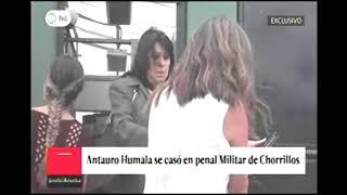 AMERICATV   ANTAURO HUMALA SE CASO EN PENAL MILITAR DE CHORRILLOS