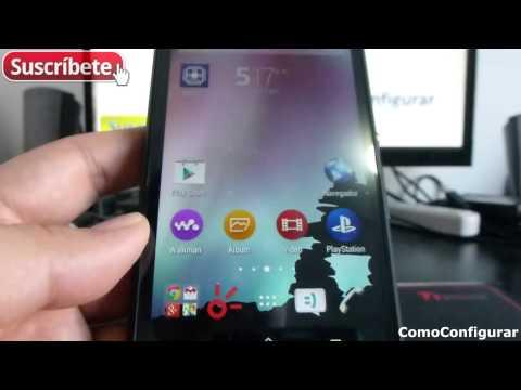 Sony Xperia E4g Cómo Cambiar El Fondo De Pantalla Español