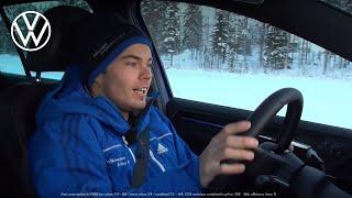 Sweden Ice Adventure – get hooked on the Volkswagen Golf R