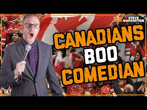 Canadian tests American comedian