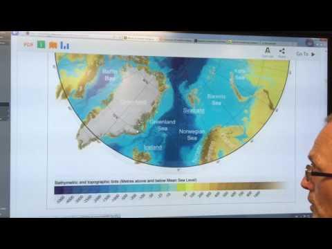 Methane Emissions From Arctic Ocean Seafloor