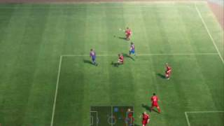 PES 10 Demo PC gameplay - Barcelona vs Liverpool