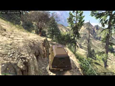 GTA V Online Insurgent Race