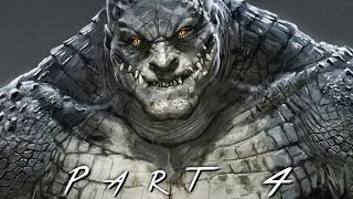 BATMAN RETURN TO ARKHAM (Arkham Asylum) Walkthrough Gameplay Part 4 - Killer Croc (PS4 Pro)
