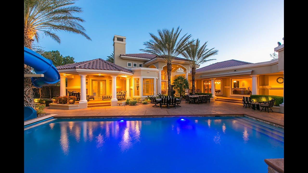 Luxury Home 7440 Oak Grove Las Vegas Nv Youtube