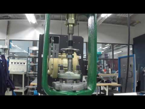 DVC 6010 On A Fisher 657 Actuator Installation And Bench Set