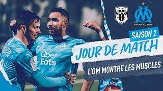 VIDEO: Angers 0-2 OM l Les coulisses de la victoire