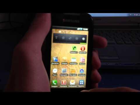 Обзор Samsung i5800 Galaxy 3