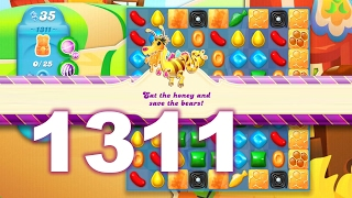 Candy Crush Soda Saga Level 1311 (No boosters)