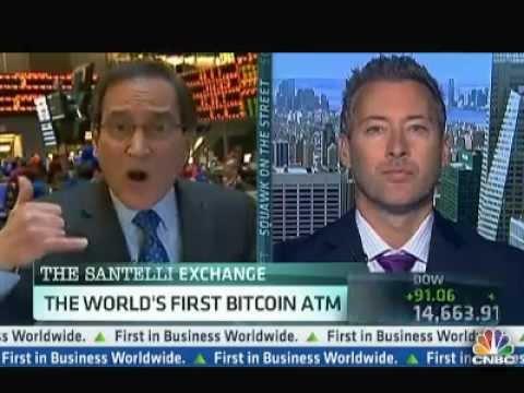 CNBC Bitcoin ATM - April 2nd 2013