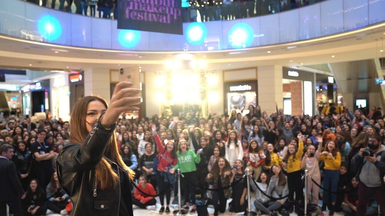 DANLA BILIC VLOG | Türkiye'nin İlk Makyaj Festivaline Katıldım! Emaar AVM'de Buluşma