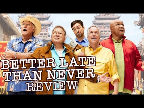 ​Better Late Than Never Review - William Shatner, Henry Winkler, Terry Bradshaw, George Foreman