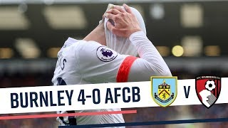 TURFED OUT 😞 | Burnley 4-0 AFC Bournemouth
