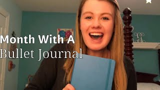Month With A Bullet Journal! What's In It + Review
