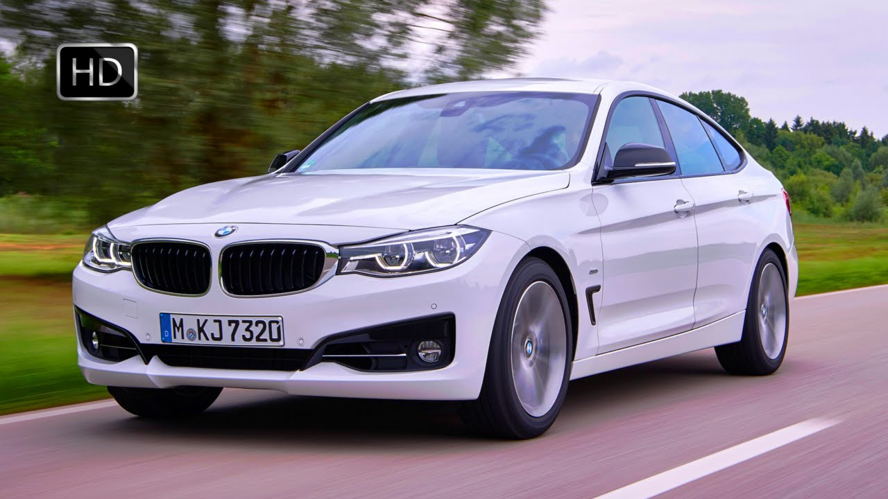 2017 bmw 3 series 340i gran turismo sedan exterior design road driving hd