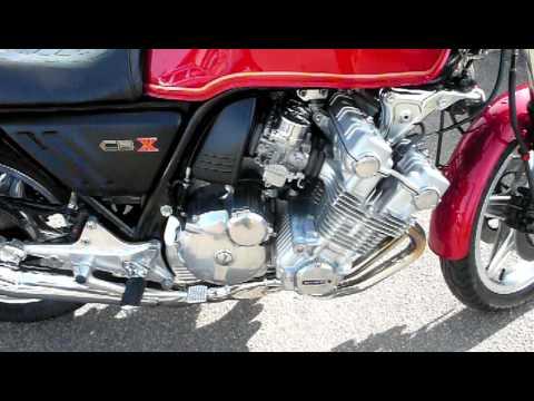 Honda 1000 CBX 1979 6 Cylinder nice sound - YouTube