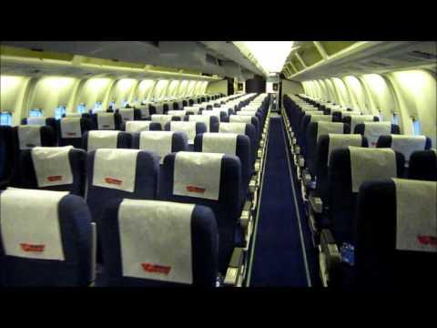 Boeing 767-300  interior