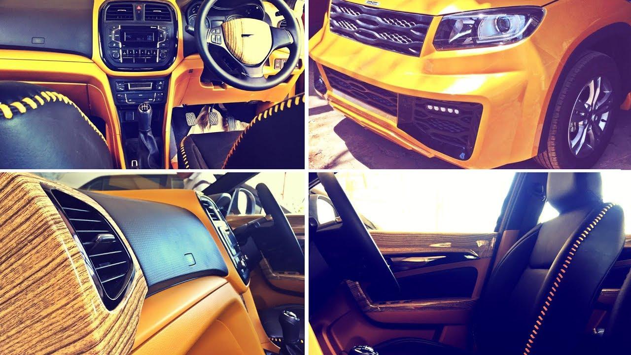 Custom Maruti Vitara Brezza Interior By DC Design Auto Adda