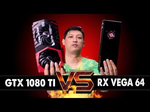 #56 AMD RX VEGA 64  8GB VS  NVIDIA GTX 1080TI 11GB ?????