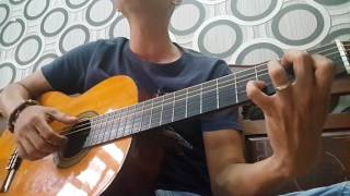 Cánh hồng phai - guitar cover