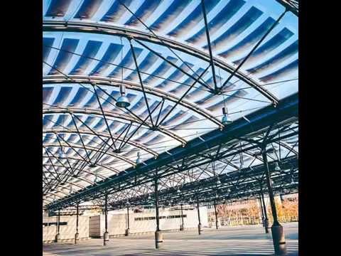 AWM-Munich: ETFE Photovoltaic 3 Layer System by Taiyo